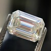 0.91 Emerald Cut Diamond GIA I VVS1 4