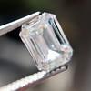 0.91 Emerald Cut Diamond GIA I VVS1 11