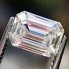0.91 Emerald Cut Diamond GIA I VVS1 10