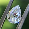 .50ct Antique Pear Shape Diamond GIA D VVS2 4