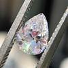 .50ct Antique Pear Shape Diamond GIA D VVS2 2