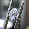 .50ct Antique Pear Shape Diamond GIA D VVS2 6