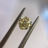 .59ct Vintage Heart Diamond, GIA Fancy Light Yellow I1 11
