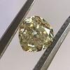 .59ct Vintage Heart Diamond, GIA Fancy Light Yellow I1 4