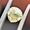.59ct Vintage Heart Diamond, GIA Fancy Light Yellow I1 7