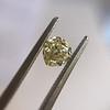 .59ct Vintage Heart Diamond, GIA Fancy Light Yellow I1 9
