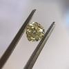 .59ct Vintage Heart Diamond, GIA Fancy Light Yellow I1 10