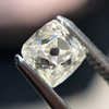 0.82ct Antique French Cut Diamond GIA J VS1 4