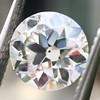 .93 Old European Cut Diamond GIA J VVS2 0