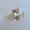 .95ct Vintage Pear Shape Diamond, GIA F I1 5