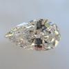 .95ct Vintage Pear Shape Diamond, GIA F I1 2
