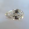.95ct Vintage Pear Shape Diamond, GIA F I1 6