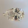 .95ct Vintage Pear Shape Diamond, GIA F I1 7