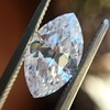 1.92ct Vintage Marquise Cut Diamond GIA D VS2 5