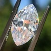 1.92ct Vintage Marquise Cut Diamond GIA D VS2 19