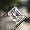 2.01ct Emerald Cut GIA E VS1 7