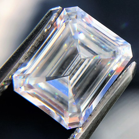 2.01ct Emerald Cut GIA E VS1