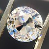 2.01ct Old Mine Cut Diamond, GIA H VS2 3