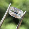 2.01ct Cushion Capsule Shaped Diamond GIA F VS2 20
