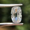 2.01ct Cushion Capsule Shaped Diamond GIA F VS2 4