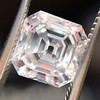 2.02ct Vintage Asscher Cut Diamond GIA E VVS2 0