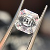 2.02ct Vintage Asscher Cut Diamond GIA E VVS2 17