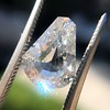 2.03ct Shield Cut Diamond GIA I I1 3