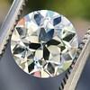 2.05ct Old European Cut Diamond GIA L VVS2 1