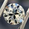2.05ct Old European Cut Diamond GIA L VVS2 2