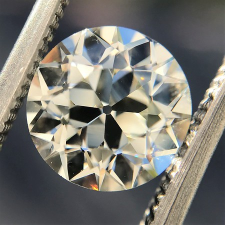 2.05ct Old European Cut Diamond GIA L VVS2