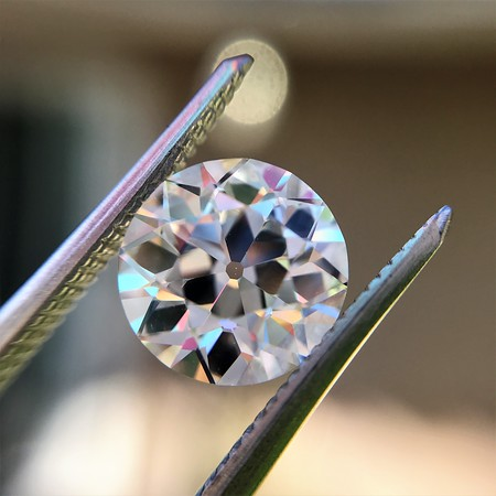 2.06ct Old European Cut Diamond GIA I VS1