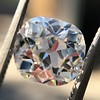 2.07ct Antique Cushion Cut Diamond GIA J VS1 25