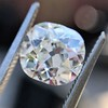 2.07ct Antique Cushion Cut Diamond GIA J VS1 22