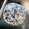 2.07ct Antique Cushion Cut Diamond GIA J VS1 0