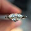 2.07ct Antique Cushion Cut Diamond GIA J VS1 20