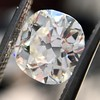 2.07ct Antique Cushion Cut Diamond GIA J VS1 6