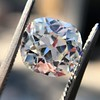 2.07ct Antique Cushion Cut Diamond GIA J VS1 21