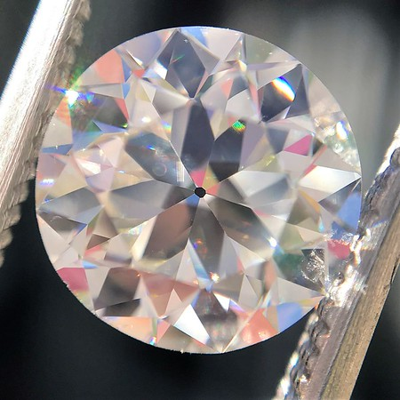 2.07ct Old European Cut Diamond, GIA J VS2