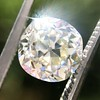 2.13ct Antique Cushion Cut Diamond GIA K SI1 3