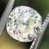 2.13ct Antique Cushion Cut Diamond GIA K SI1 4