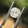 2.13ct Antique Cushion Cut Diamond GIA K SI1 12