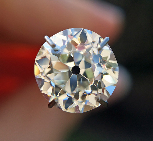 2.13ct Old Mine Cut Diamond, GIA J SI2