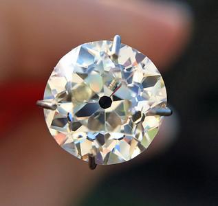 2.13ct Old Mine Cut Diamond GIA J SI2 OMC