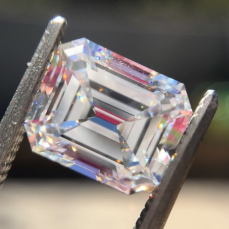 2.14ct Emerald Cut Diamond GIA E VS1 1
