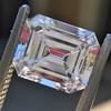 2.14ct Emerald Cut Diamond GIA E VS1 1 23