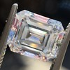 2.14ct Emerald Cut Diamond GIA E VS1 1 9