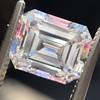 2.14ct Emerald Cut Diamond GIA E VS1 1 6