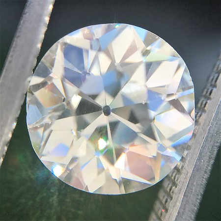 2.15ct Old European Cut Diamond GIA K SI1