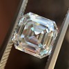 2.13ct Vintage Asscher Cut Diamond GIA H VS2 6