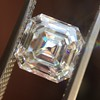 2.13ct Vintage Asscher Cut Diamond GIA H VS2 1